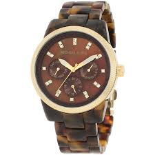 michael kors mk5216 ladies watch tortoise acrylic bracelet mk5038 ladies michael kors watch