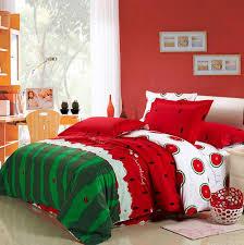 watermelon bedding set king size queen full double quilt duvet cover sheets bedspread bed in a bag linen bedsheet cotton western thick bedding duvet boys