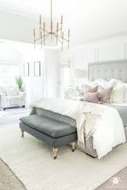 White master bedroom Luxury Home Decorating Ideas Bedroom White Master Bedroom Design Ideas With Brass Light And Gray Tufted Bed Home Decorating Ideas Bedroom Source White Master Pinterest 96 Best Bedroom Ideas Images In 2019 Bedrooms Bedroom Decor