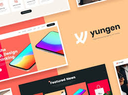Modern Digital Design Yungen Modern Digital Agency Business Wordpress Theme By
