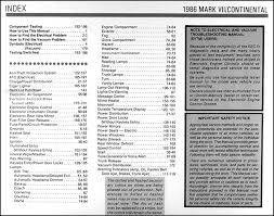 1991 lincoln mark 7 wiring diagram wiring diagram 1986 lincoln continental u0026 mark vii electrical troubleshooting manual1986 lincoln continental u0026 mark vii