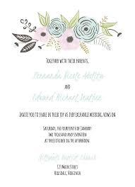 Free Templates For Wedding Invitations Free Templates For Wedding
