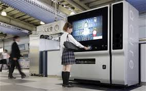Touch Screen Vending Machine Japan Extraordinary Japanese Vending Machine Tells You What You Should Drink Telegraph
