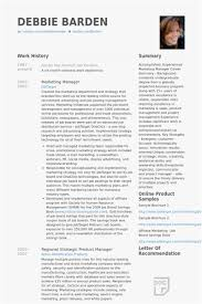 Sales And Marketing Manager Resumes 35 Free Sales And Marketing Manager Resume Examples