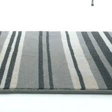 photo 5 of 7 gray striped rug grey and black runner rugs com white outdoor broken