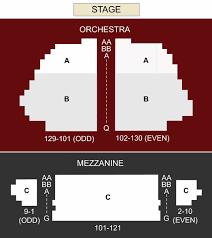 Samuel J Friedman Theatre New York Ny Seating Chart