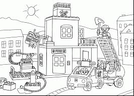 Small Picture marvelous fireman fire truck coloring pages with fire coloring