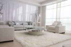 white fur rug with round glass top table completed with gray white throughout white rugs for amusing white bedroom design fur rug