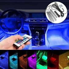 Buy <b>1Set light</b> strips LED for Car Charge Interior RGB Strip <b>Lights</b> ...