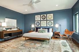 recessed lighting ceiling fan bedroom collage bedroom midcentury with framed art framed art
