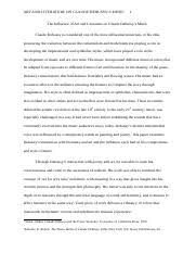 african american literature study resources 6 pages the influence of art and literature on claude debussy 5 corrected