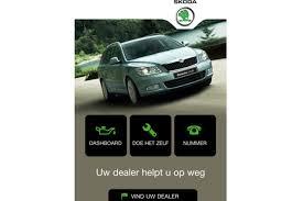 Smartphone App Skoda Biedt Hulp Bij Pech Autowereldcom