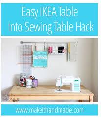 Ikea Sewing Machine Table