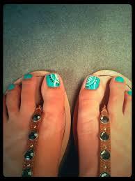 Turquoise Toe Nail Designs Summer Nails Summer Toe Nails Toe Nails Toe Nail Designs