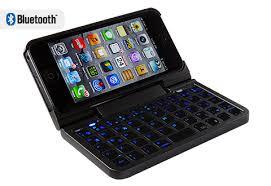 iPhone 5 Keyboard Case Sharper Image