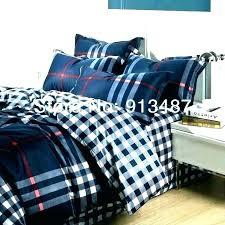 plaid sheets sets buffalo bedding set comforter blue quilt bed queen blue plaid bedding