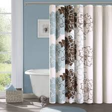 brown and blue bathroom accessories. Blue And Brown Shower Curtain Tiffany Bathroom Accessories Light Wall Decor Baby On Category With