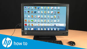 Hp Pcs Performing An Hp System Recovery Windows 7 Hp Customer