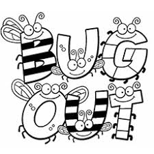Small Picture Ingenious Idea Bug Coloring Page Print Spring Bugs Coloring Pages