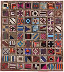 207 best Quilts images on Pinterest | Bedspreads, Quilt patterns ... & Unplanned geometry: vintage silk sampler quilt with plaid sashing in the  collection of Laura Fisher Adamdwight.com