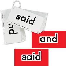 Ezread Dolch Pre Primer Sight Word Flash Cards