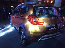 new car launches planned in indiaHonda WRV Price Honda WRV launched in India Prices start at Rs