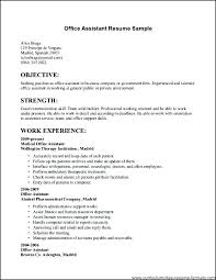 Resume Examples For Medical Jobs New Setting Up Resume Job Office Examples Of Resumes For Jobs