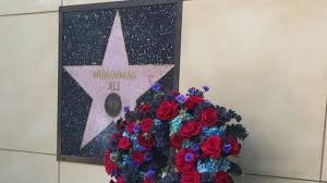 why ali s walk of fame star is the only one placed on a wall