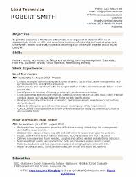ndt resume samples lead technician resume samples qwikresume