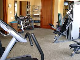 Interior:Simple Basement Gym Room Decoration Idea Fancy Modern Small  Television For Cool Basement Gym