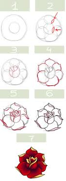 Small Picture Simple roses My kids always draw roses I must show them this