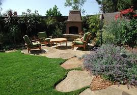 charming plan design ideas of backyard landscape with notched pool