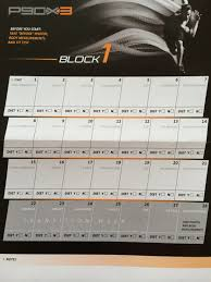 official p90x3 workout schedule worksheets for all and