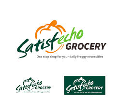Grocery Store Logo Design Colorful Playful Grocery Store Logo Design For Satisfecho