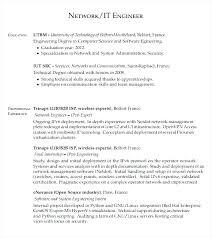 Resume For Network Engineer Network Engineer Resume Create My Resume