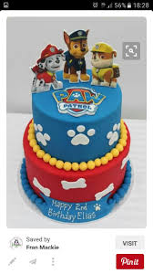 31905195 3rd Birthday Cake Chase From Paw Patrol Paw Patrol In