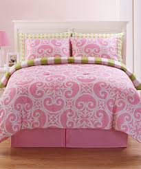 solid pink comforter