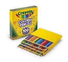 Crayola Colored Pencils 100 Pack Walmartll