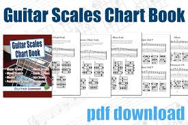 bass scales wall chart guitar scales chart book printable pdf download