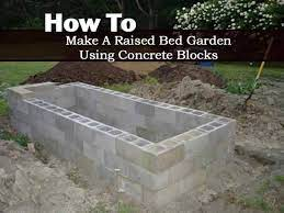how to make a raised bed garden using