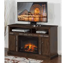 durango 54 tv stand with fireplace