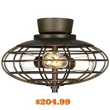 enclosed ceiling fan. Cage Ceiling Fan With Light Enclosed