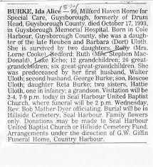 Hillside Cemetery, Seal Harbour, Guysborough County, NS