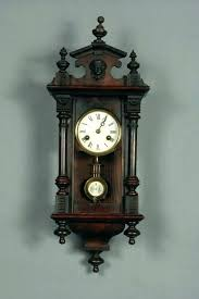 regulator pendulum wall clock antique wall clocks with pendulum wall clock r a regulator antique vintage pendulum