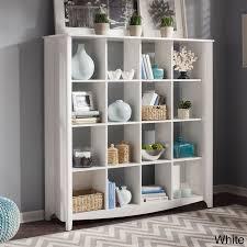 Bush Furniture Aero 16 Cube Bookcase/Room Divider (