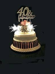40th Birthday Cake Decorations Uk Toppers Wedding Anniversary With