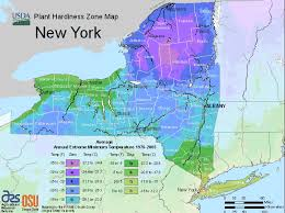 Us Growing Zone Chart New York Usda Map Of Hardiness Planting Zones