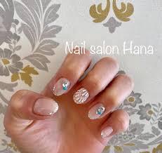クリアホワイトエスニックネイル Nail Salon Hana