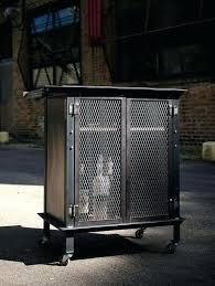 fascinating industrial liquor cabinet bar cart weld by on more rustic wine barrel chandelier
