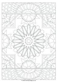Islamic Art Coloring Pages Truyendichinfo